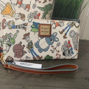 Disney Parks Toy Story 4 Wallet by Dooney & Bourke